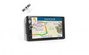 Mp5 Player auto cu gps, 7010G 2DIN, Ecran tactil 7 Inch, usb, sd, card, aux