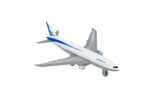 Avion Boeing 777 White Silver Jstj