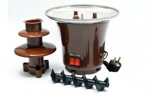 Mini fantana de ciocolata cu 3 nivele - ideala pentru orice ocazie