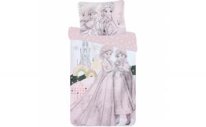 Set lenjerie pat copii Frozen 90x140 +
