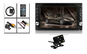 CD-DVD Player auto cu GPS, Tv Tunner, Touchscreen, Bluetooth, Camera marsarier, Control pe volan