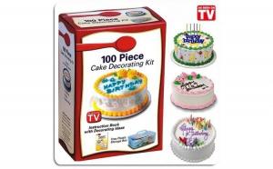 Kit decorare tort, 100 piese