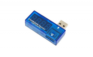 Tester Alimentare Multifunctional USB Tensiune, Curent, Conector USB 2.0 Standard, Albastru
