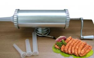 Masina de facut carnati, capacitate 2,5 L acum la pretul de 129 RON in loc de 499 RON