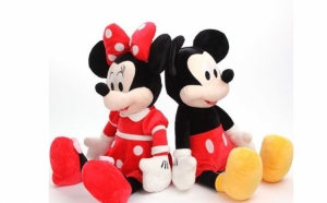Set Minnie si Mickey Mouse muzicali 50 cm