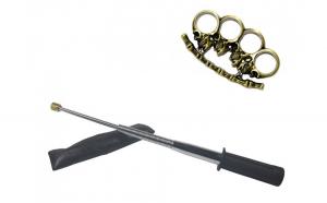 Set baston telescopic flexibil