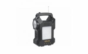 Sistem pentru iluminat GD LITE 1000A  cu incarcare solara sau la priza, panou solar detasabil