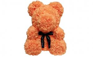 Ursulet  Rose Bear 40 cm portocaliu