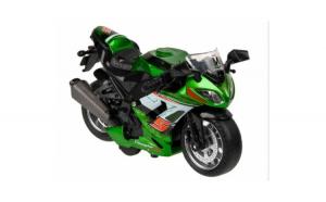 Motocicleta sport cu sunete si lumini
