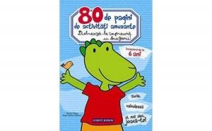 80 de pagini de activitati amuzante.Distreaza-te impreuna cu dragonii!, autor Valérie Videau