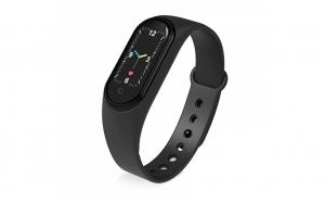 Bratara fitness M5 ,bluetooth, stil sport, ritm cardiac, monitorizarea presiunii arteriale, ceas, pedometru, impermeabil, 0.96 inch ecran color