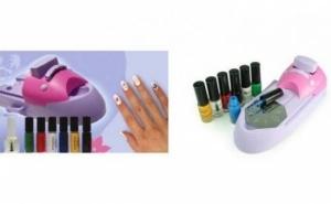 Imprimi cu usurinta cele mai atragatoare imagini pe unghii cu: Aparatul pentru decorarea unghiilor Nail Colors Machine, la 75 RON in loc de 150 RON