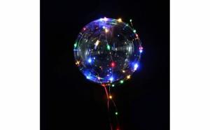 Balon party LED multicolor, TeamDeals 10 Ani, Pentru petrecere