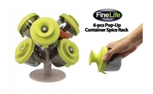 Suport pentru condimente Pop-Up Spice Rack la doar 31 RON in loc de 99 RON