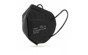 Set 20 masti de protectie FFP2 negre ambalate individual Certificate CE