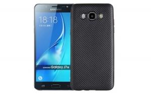Husa Samsung Galaxy J7 2016 i-Zore Carbon Fiber Negru
