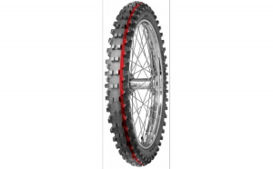 Anvelopa cross enduro MITAS 70 100 17 (40M) TT C19 INTERMEDIATE TERRAIN RED NHS  Diagonal