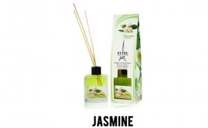 Parfum de camera Eyfel Iasomie 120 ml / Betisoare de bambus