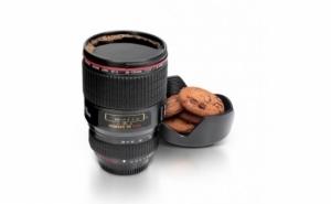 Cana termos in forma de obiectiv foto - fiind un produs multifunctional, la doar 34 RON in loc de 80 RON
