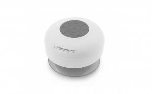 Boxa Bluetooth rezistent la apa 3 W Alb