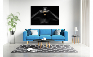 Tablou canvas Black Pearl, 70x100 cm