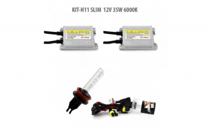 H11 SLIM  12V 35W 6000K