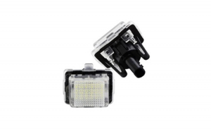 Set Lampi LED numar Mercedes W212 4D SEDAN, break 2011-
