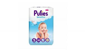 Scutece Pufies Sensitive, Junior 5, 11-1