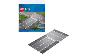 LEGO CITY INTERSECȚIE DREAPTĂ ȘI ÎN