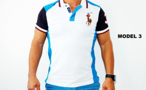 Tricou polo din bumbac cu nasturi, la doar 54 RON in loc de 108 RON