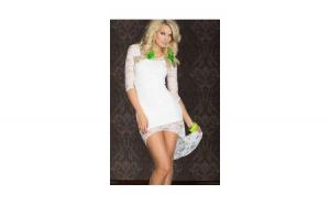Rochie Fancy White