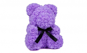 Ursulet  Rose Bear 40 cm mov