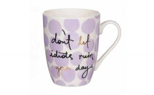 Cana Pufo pentru cafea cu mesaj, Don't