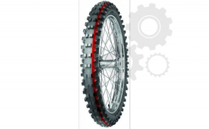 Anvelopa cross enduro MITAS 80 100 21 (51R) TT C19 MEDIUM TERRAIN RED NHS  Diagonal