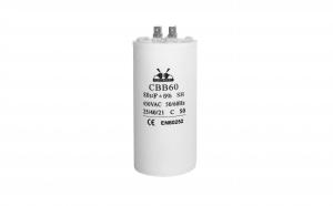 Condensator pornire motor, de curent alternativ, seria CBB60 80uF/450V