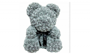 Ursulet  Rose Bear 40 cm gri