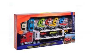 Camion cu 12 masini