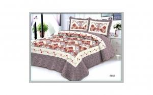 Set cuvertura de pat si 2 fete de perna 50X70 cm - din Bumbac