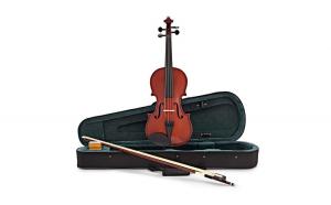 Viola-vioara clasica din lemn, 7/8, 65 cm, toc inclus