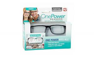 Ochelari pentru citit cu dioptrii variabile, +5/+2.5 One Power
