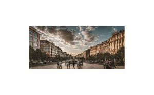 Tablou Canvas cu Orase 750 80 x 160 cm