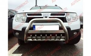 Bullbar inox Dacia Duster I 2009-->2017