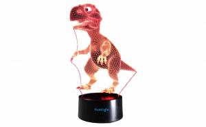 Lampa 3D LED Dinozaur