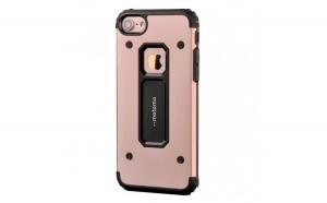 Husa Apple iPhone 6/6S Motomo Armor Roz-Auriu