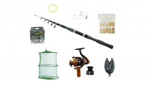 Set complet de pescuit cu lanseta