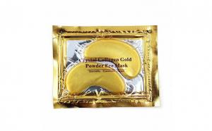 Masca Gold, pentru ochi, cu efect de hidratare, indepartarea semnelor de oboseala, netezirea ridurilor, reducerea pungilor de sub ochi si a umflaturilor, Lanthome, 2 bucati/ set