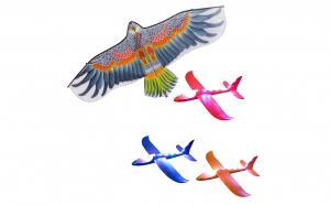 Set Zmeu Vultur + 3 avioane din spuma