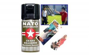 Spray de autoaparare cu piper Nato, la 25 RON in loc de 50 RON
