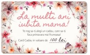 CARD CADOU in valoare de 100 RON, CARDURI CADOU