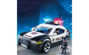 Vehiculul de patrulare al politiei